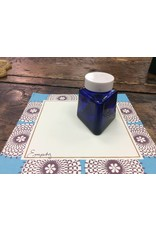 Vintage Parker Cobalt Glass Ink Bottle