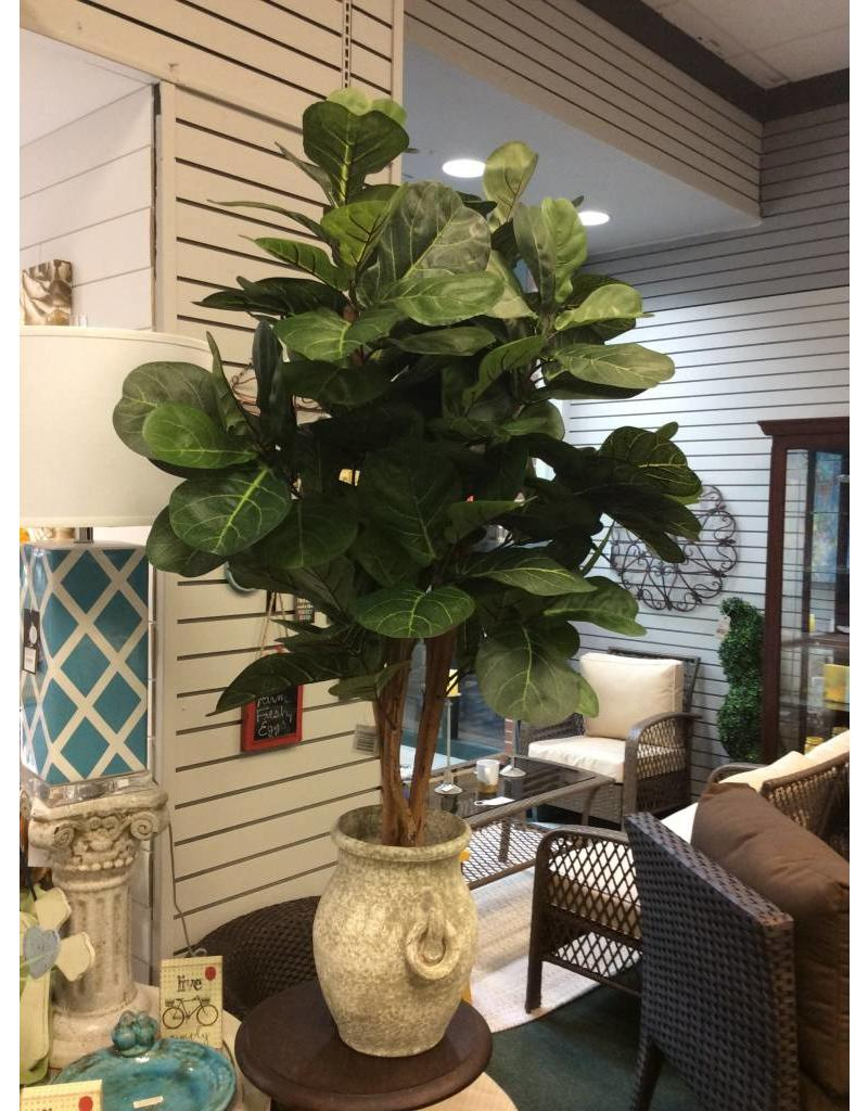 Mistana Leaf Floor Foliage Tree in Planter
