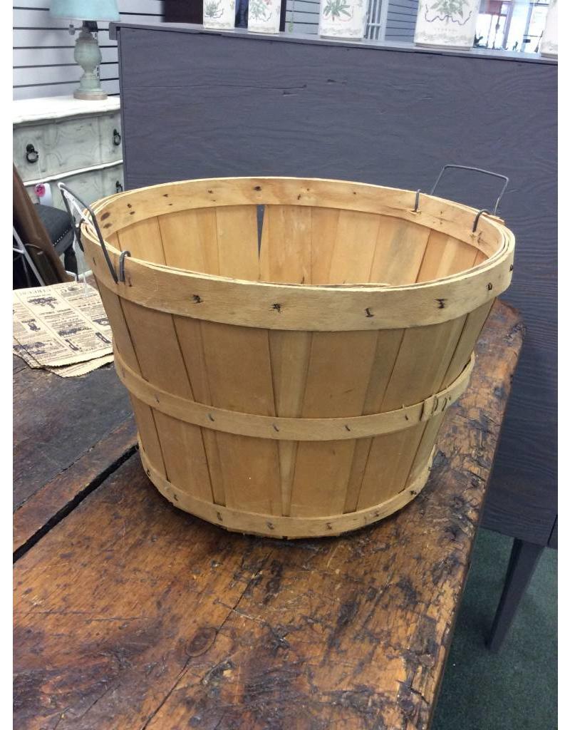 Half Bushel Basket