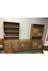 Henredon Two Piece Cabinet & Open Cabinet Unit