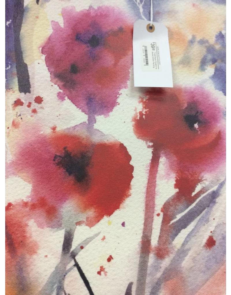 'Three Bright Flowers' by Sheila Golden Painting