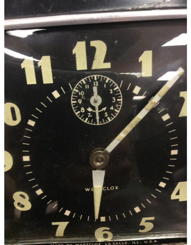 Westclox Vintage 1950's Westclox Alarm Clock