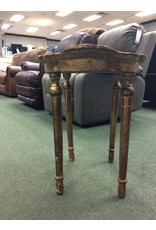 Vintage Italian Made Gilded Accent Table