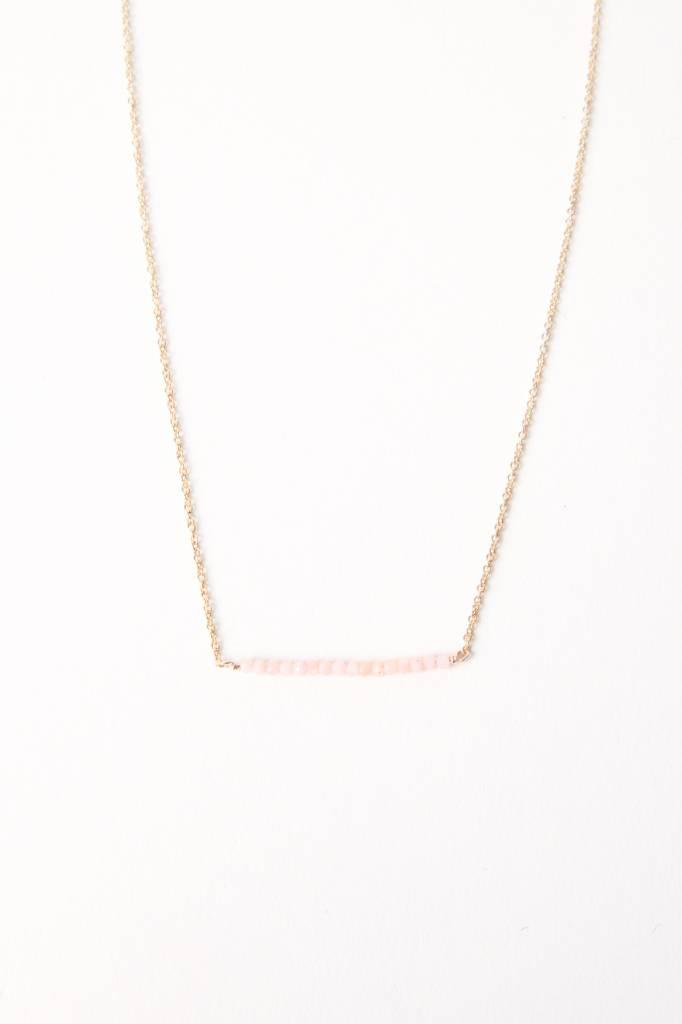 Leah Alexandra Leah Alexandra Bar Necklace