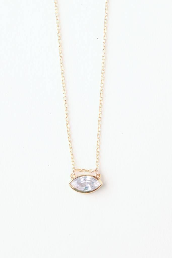 Thatch Iris Necklace GV