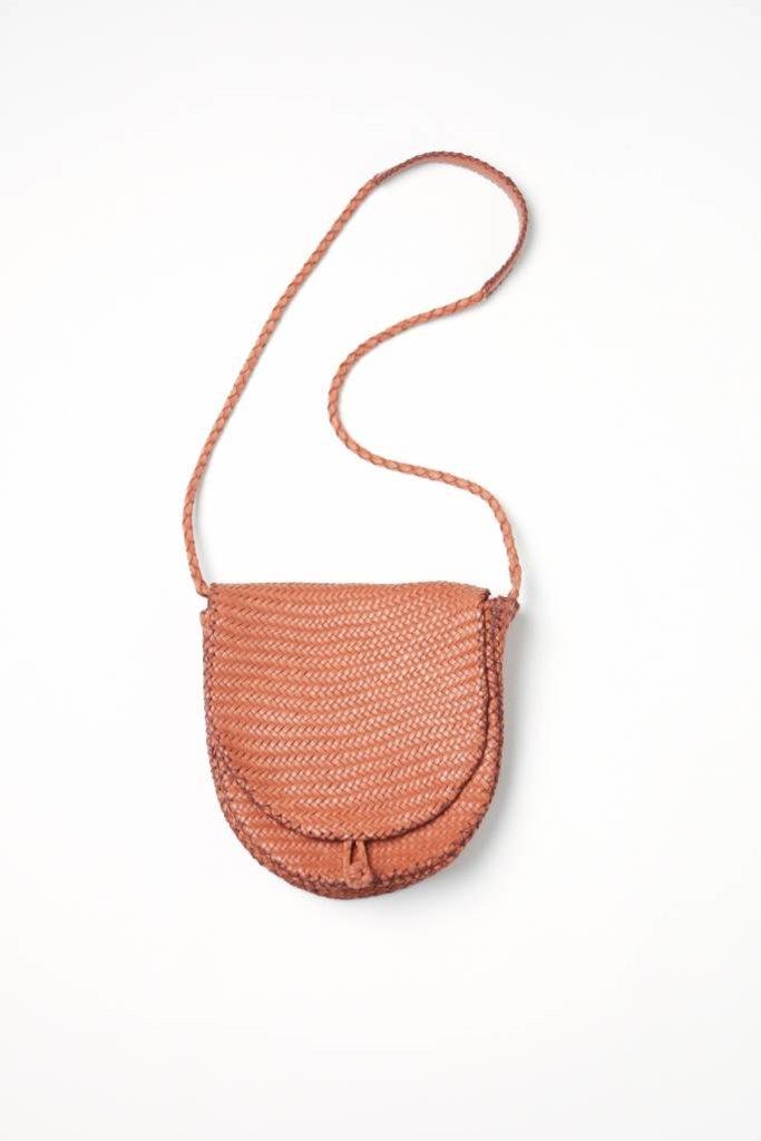 En Shalla Leather Saddle Bag