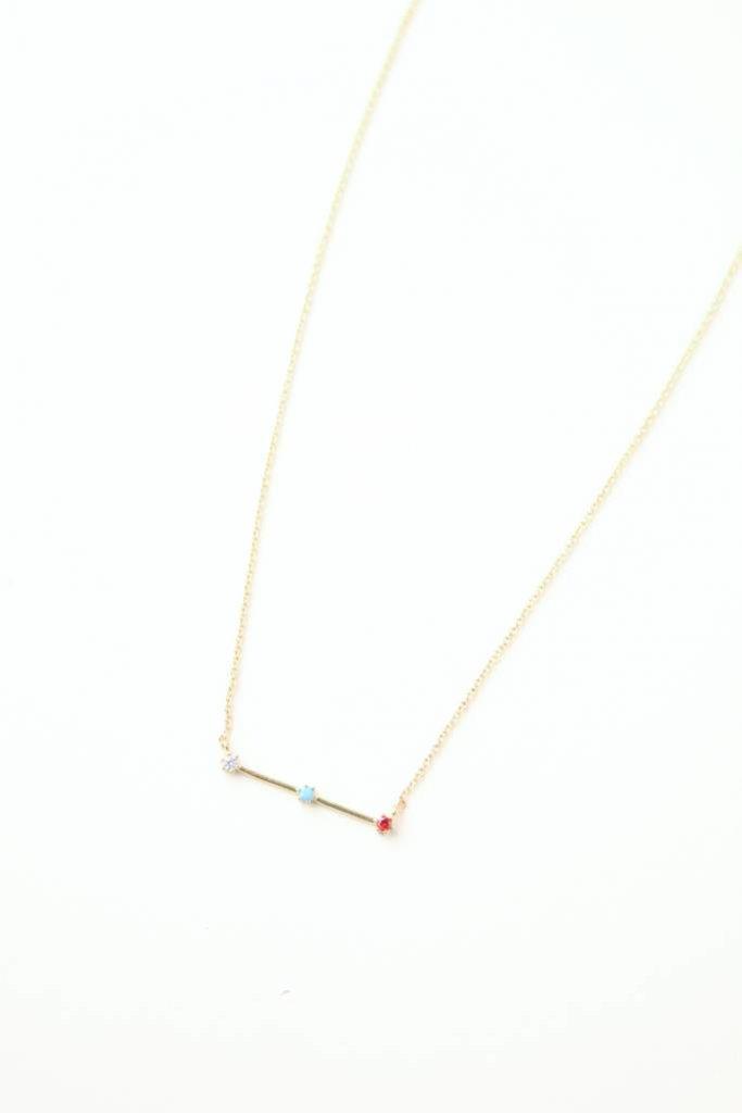 Tai Stone & Stick Pendant Necklace GV