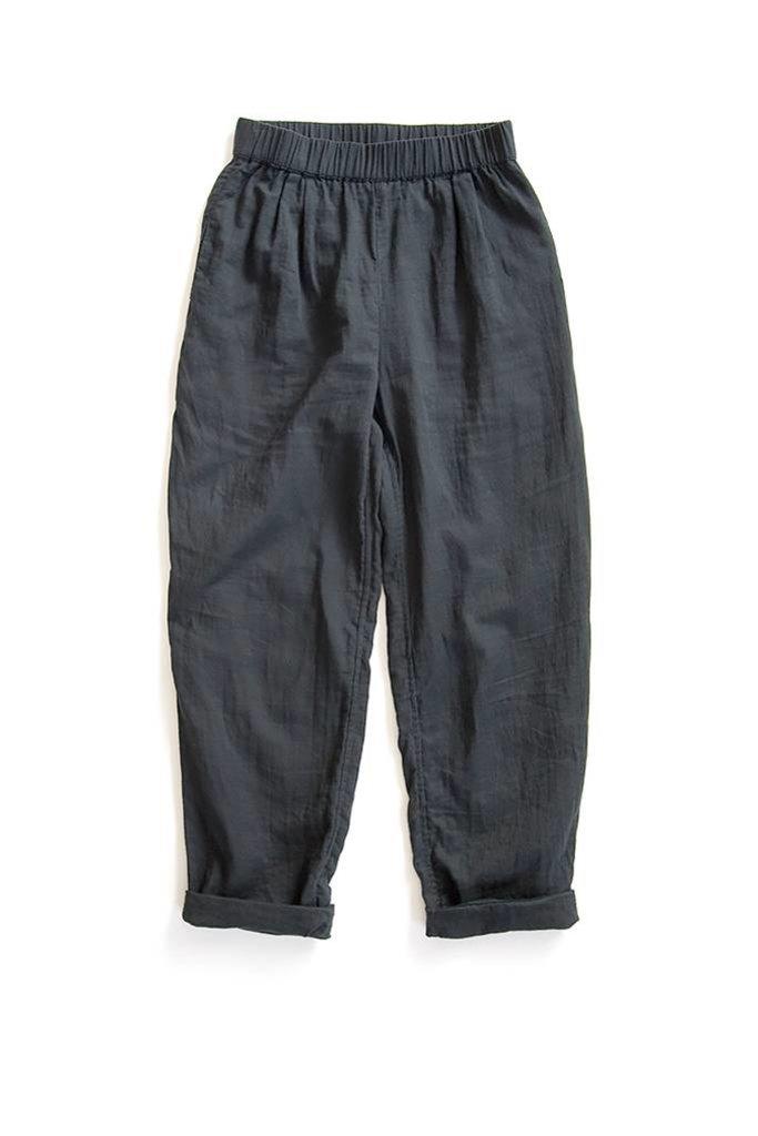 Cotton Pant Slate Black