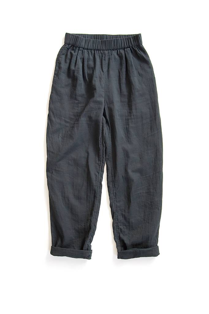 Cotton Pant Slate Black