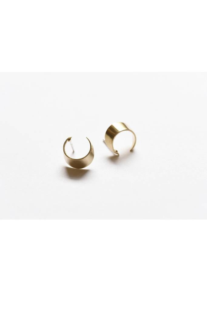 Small Brass Wide Circles