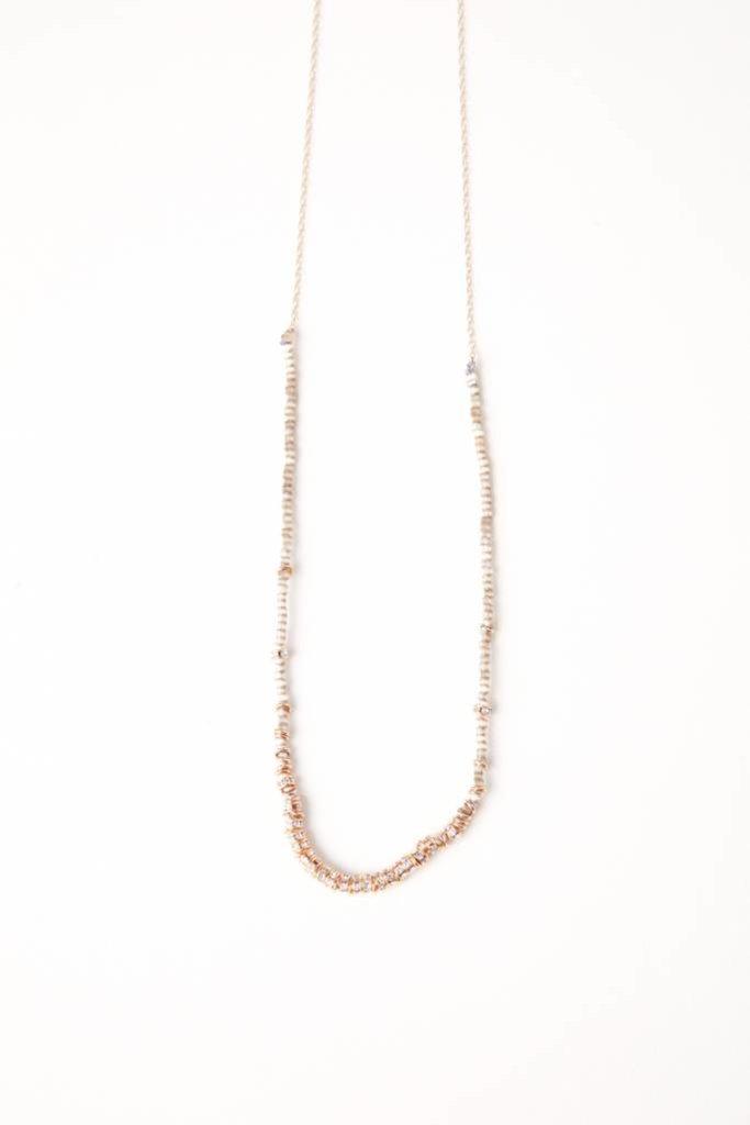Iwona Ludyga Lune Plene Long Half Necklace