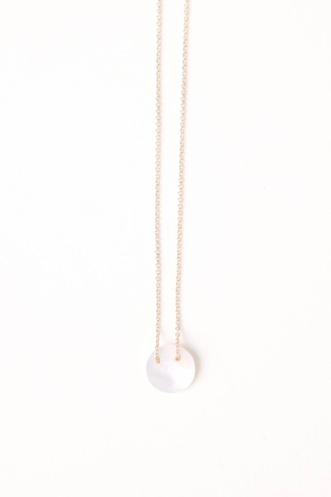 Rond Necklace Mother of Pearl GV