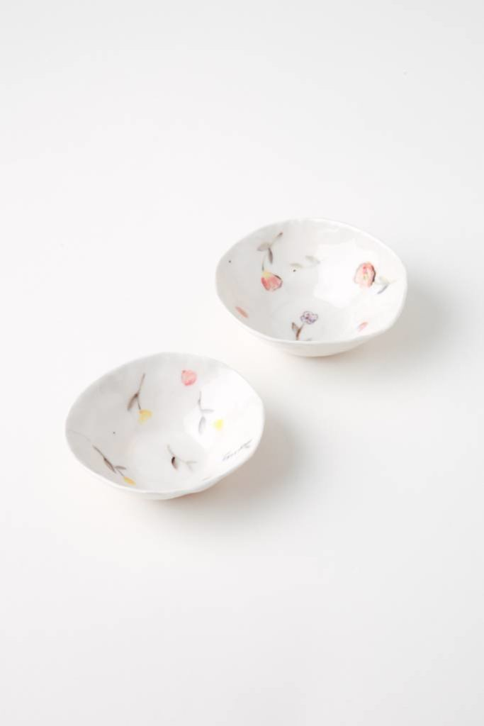 Alice Cheng Studio Porcelain Assorted Little Dishes