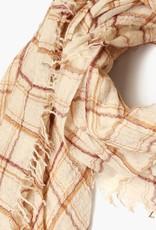 Plaid Mix Scarf Wool