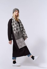 Hilary Grant Archipelago Large Triangles Scarf