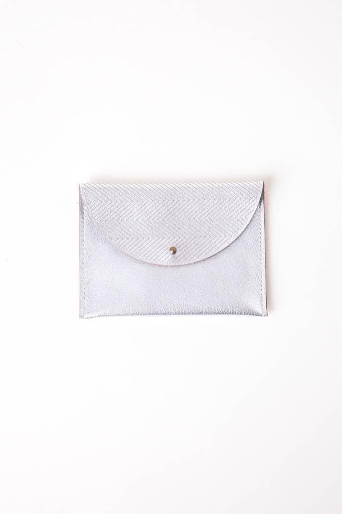 Metallic Flap Pouch