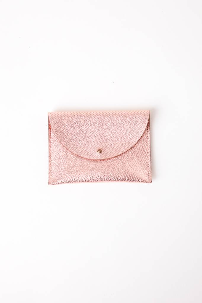 Metallic Flap Pouch