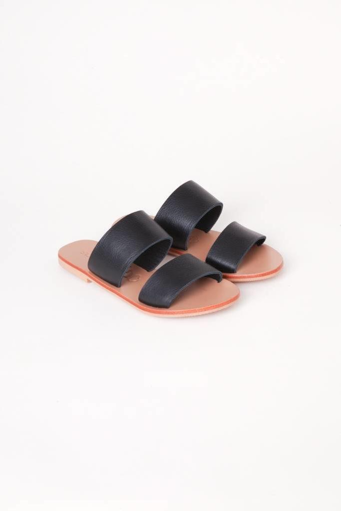 Keiko Double Strap Slides