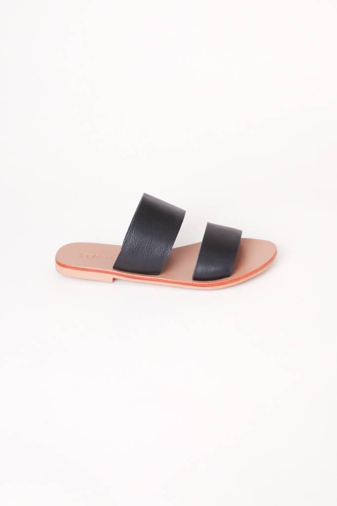 0832d52dcb37 Keiko Double Strap Slides Keiko Double Strap Slides