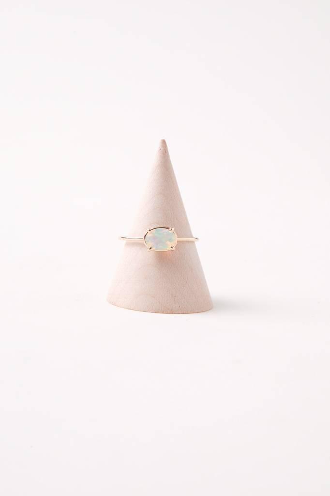Gjenmi Mystic Moon Ring Opal Size 7