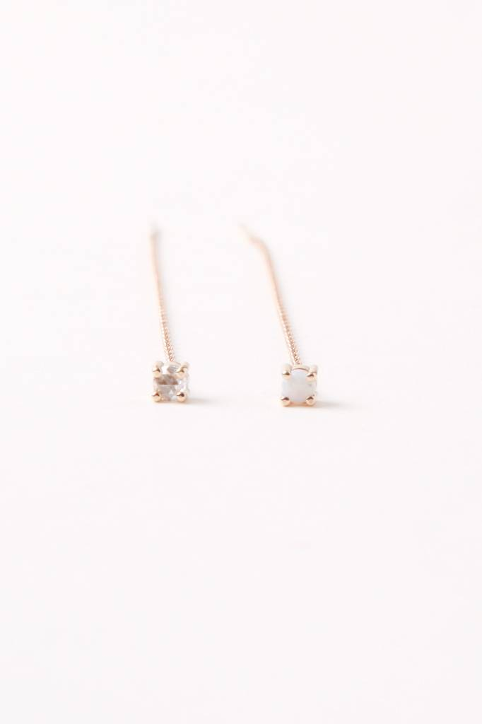 Kristen Elspeth Neptune Threader Single Earring