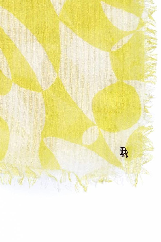Bellerose Seini Scarf Bright Yellow Print