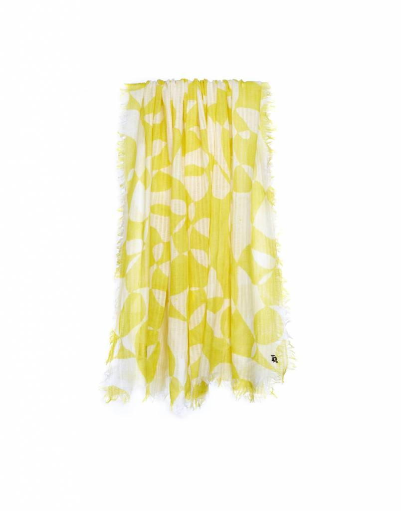 Bellerose Seini Scarf Bright Yellow Print