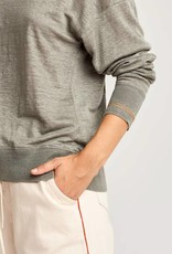 Bellerose Linen Grey T Shirt