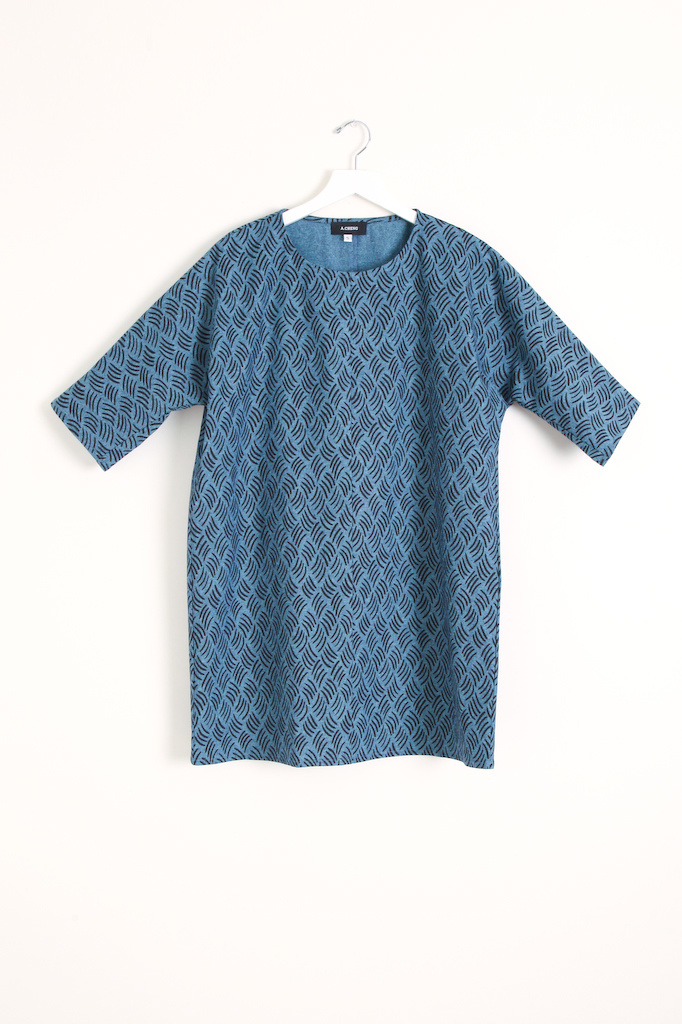 A.Cheng Scoopneck Dress