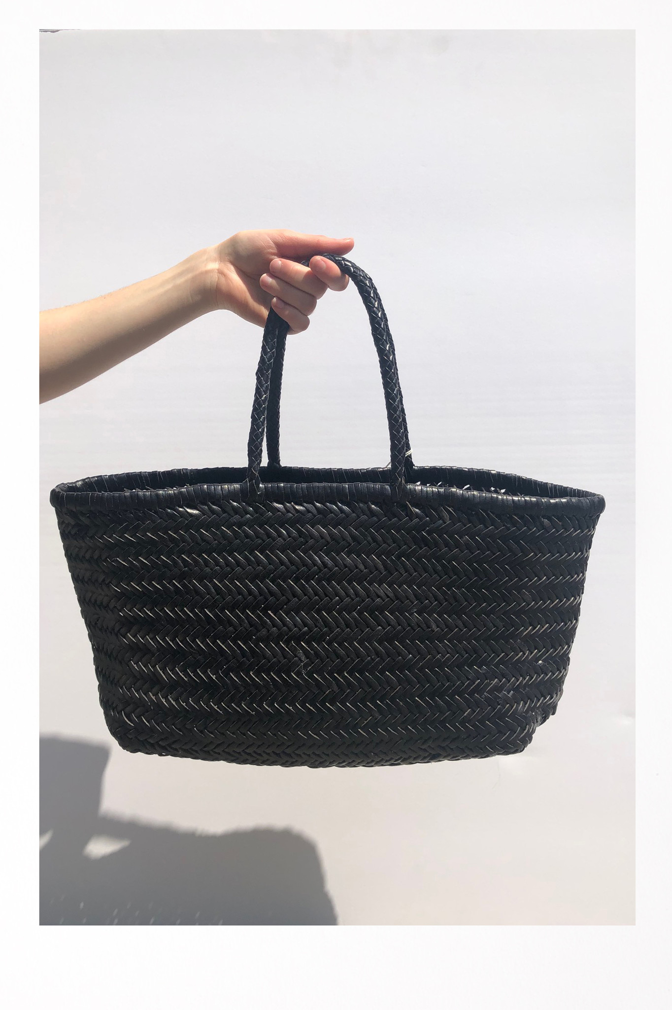 Bamboo Triple Jump Big Bag Black