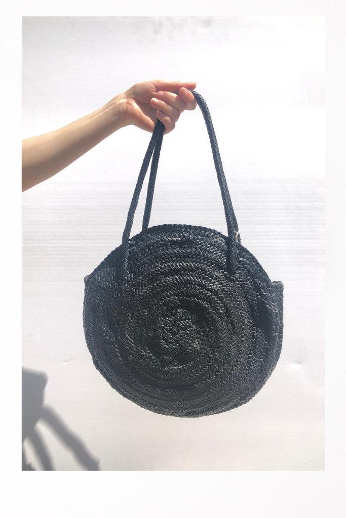 Round Circle Bag Black