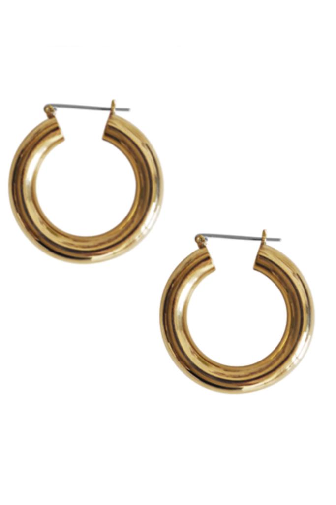 Round Hoops brass
