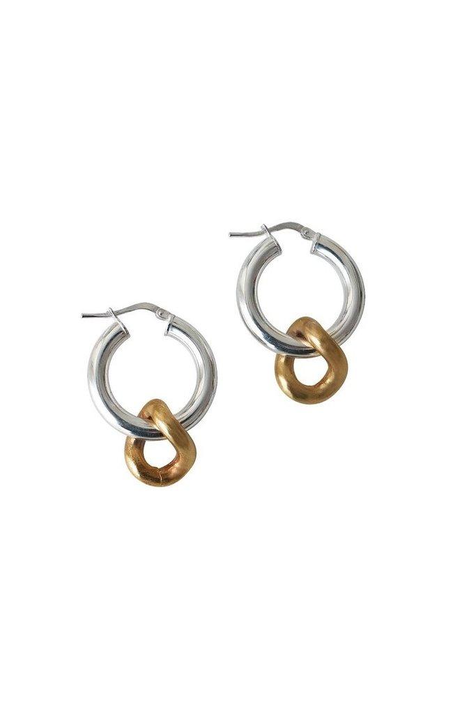 Mini Onda Chain Earrings