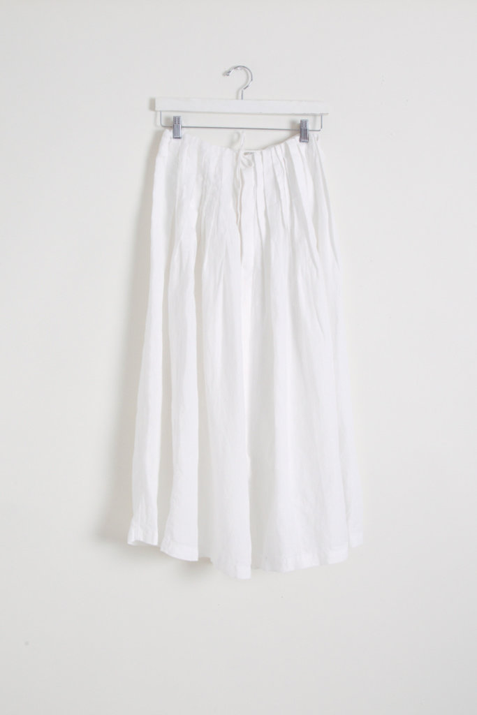 Adjustable Pleated Skirt