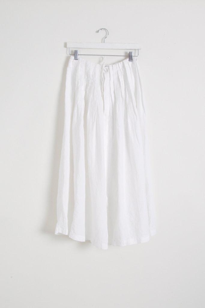 Adjustable Pleated Skirt