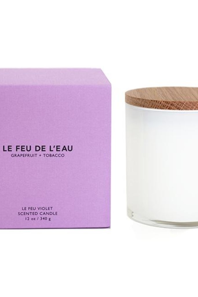 Le Feu Le Feu Sculpted Wax Candle Grapefruit + Tobacco