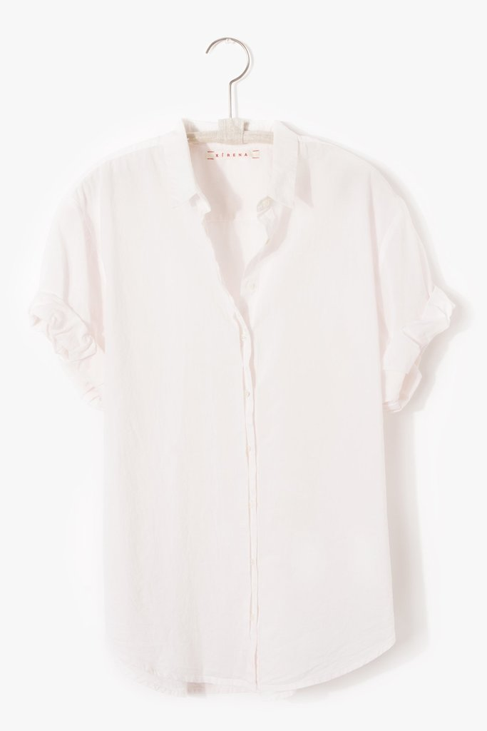 Xirena Channing Shirt Sweet Pink