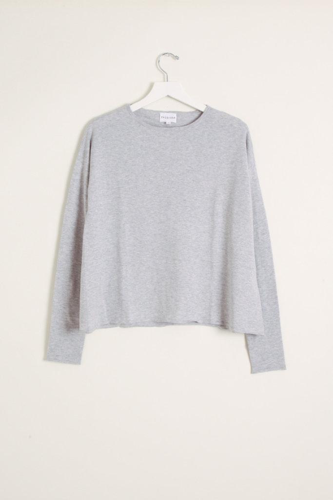 Felicite Shrunken Round Neck cotton Cashmere