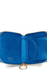 OAD Half Zip Around Wallet Sea Blue