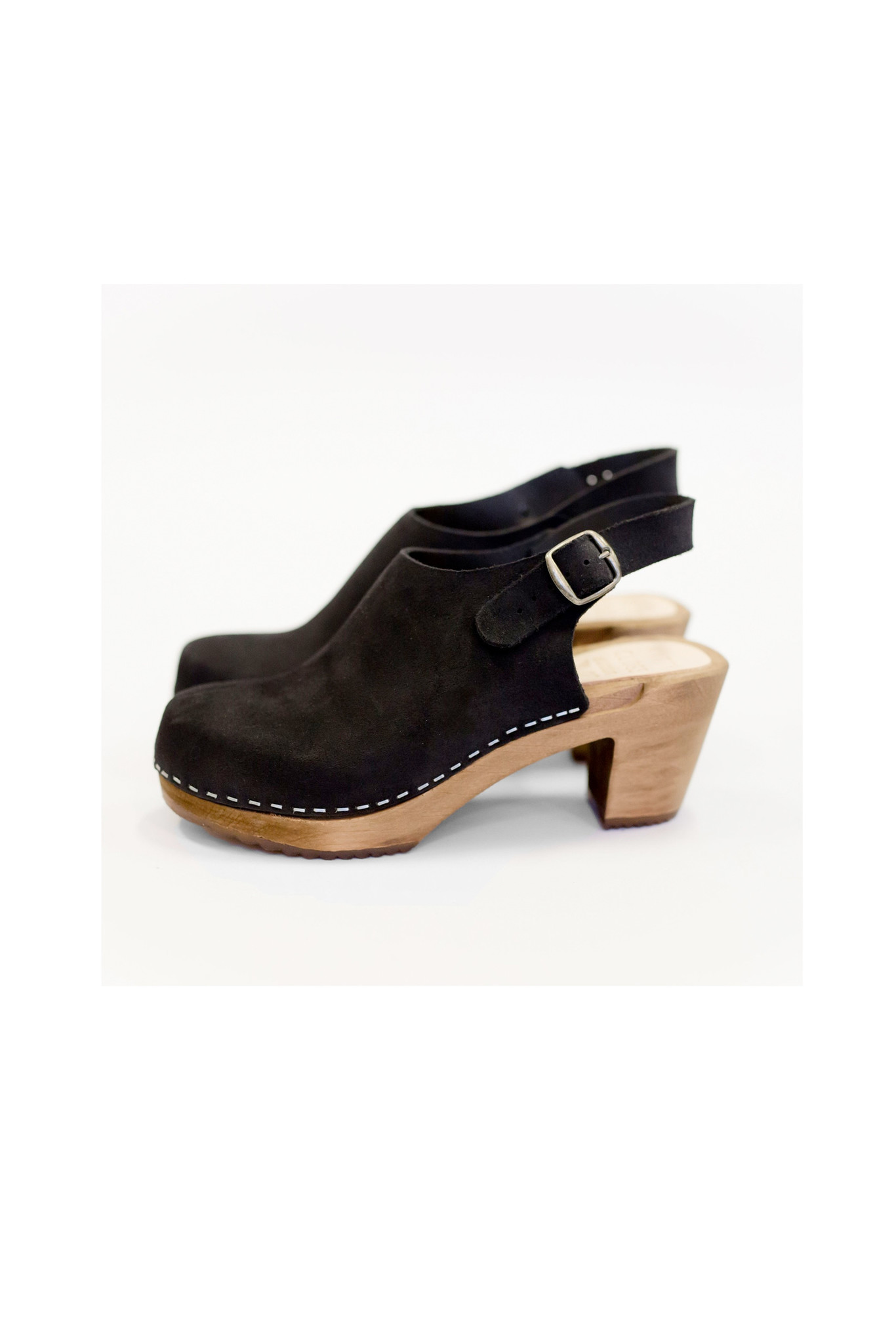 Sling back clogs