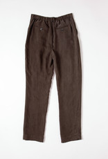 A.Cheng High Waisted Full Length Cupro Pants with Front Pleats