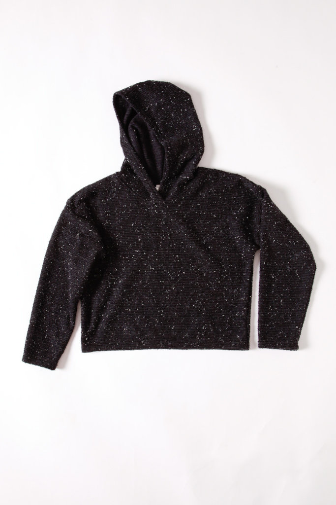 Flecked Cotto  Hoodie