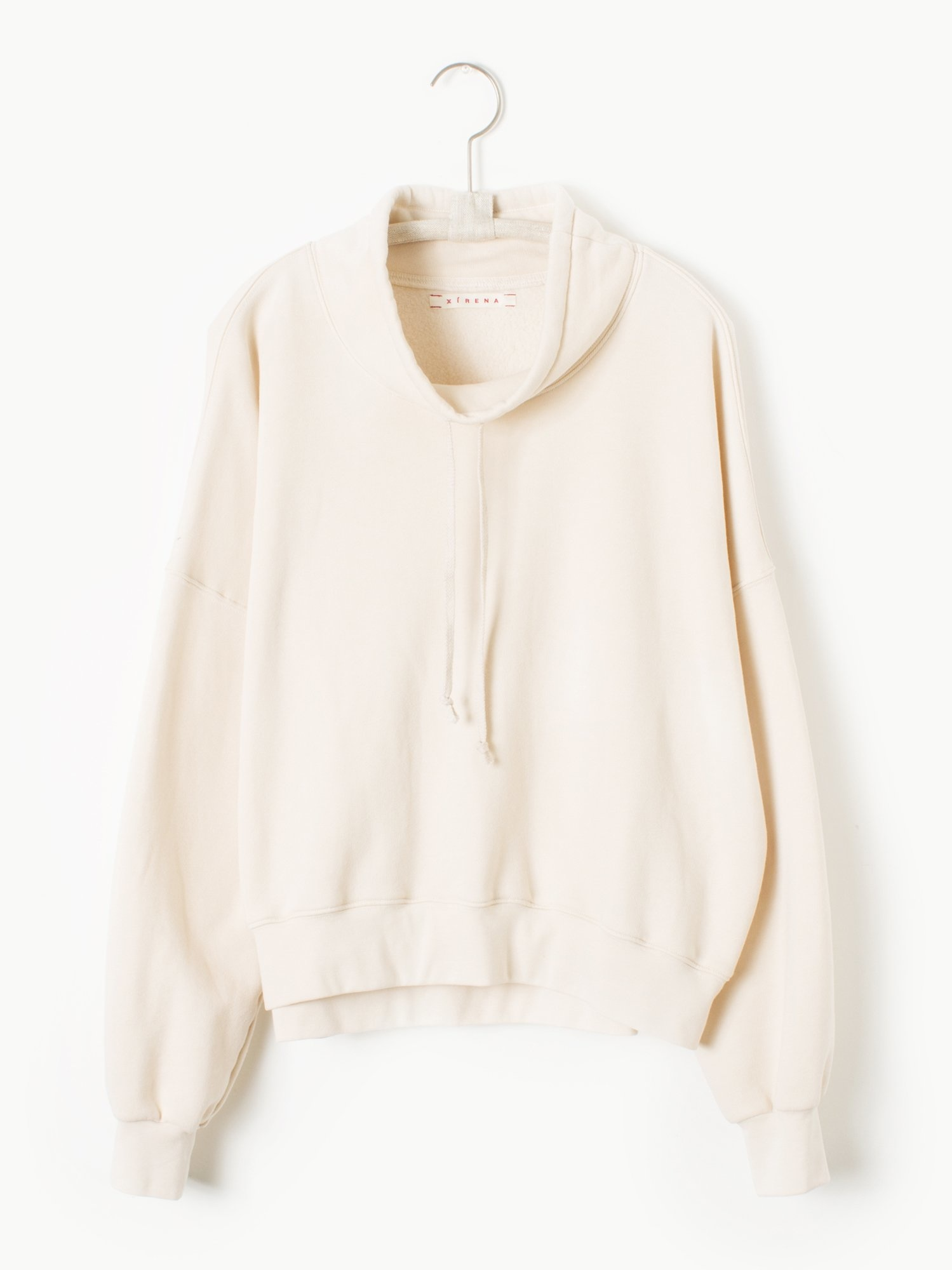 Xirena Drawstring Cowl neck sweatshirt