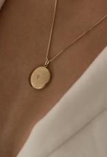 Gold Filled Locket with tiny diamond