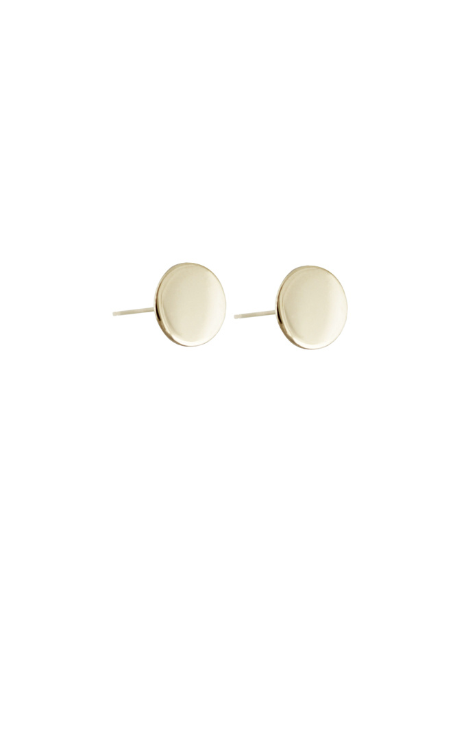 Lumo Gold Disc Studs