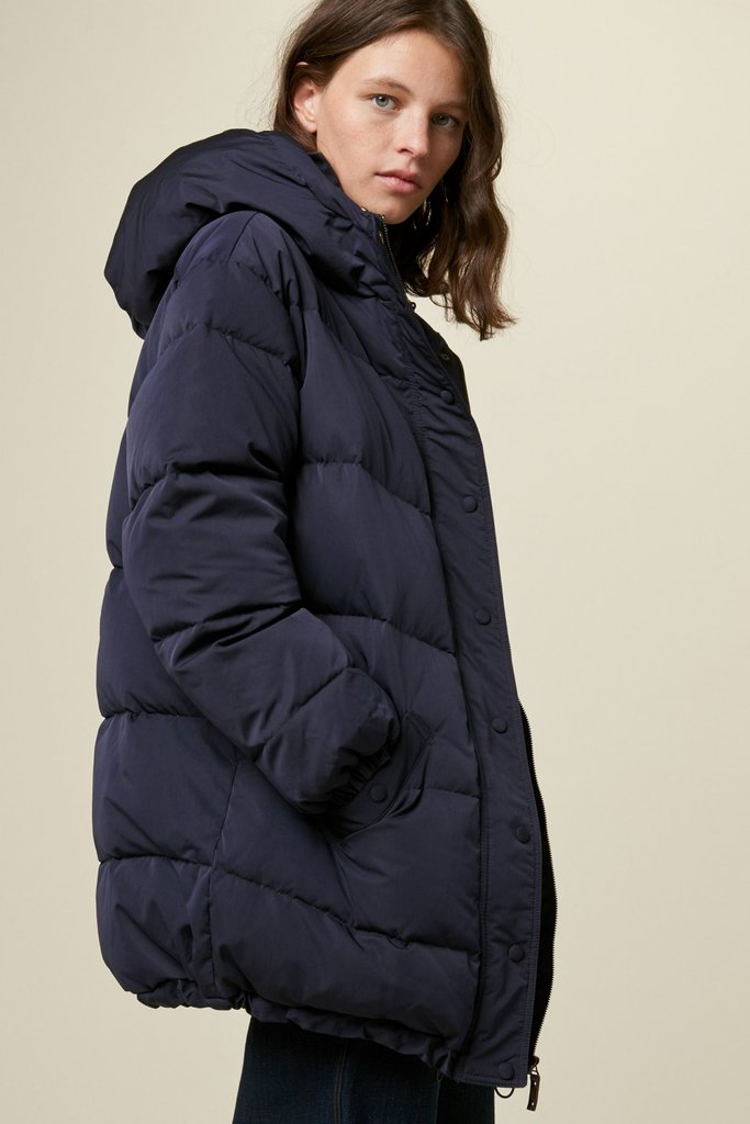 Priestley Coat - Navy
