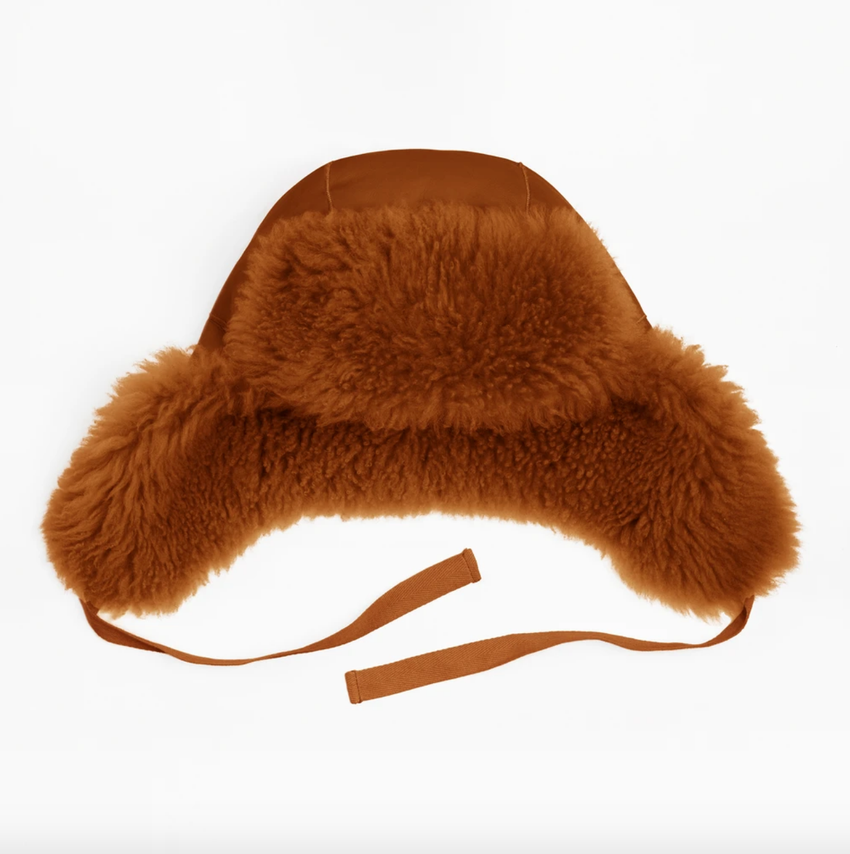 Toasties Toasties Leather Aviator Hat