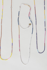 Maribel Bisbal Long Multi-Color Beaded Necklace