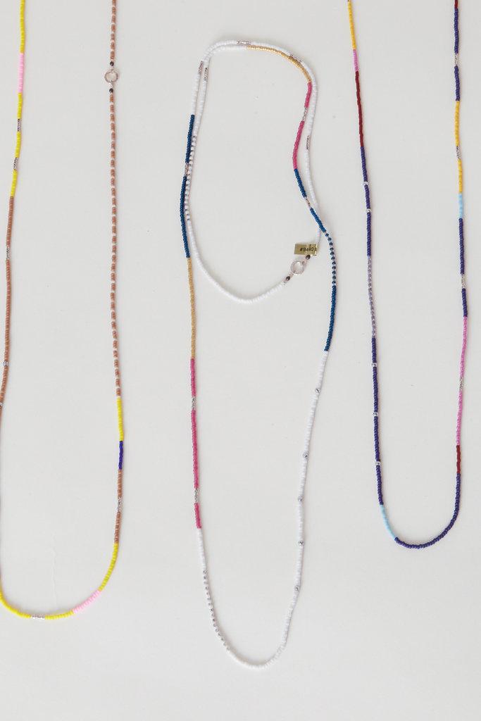 Maribel Bisbal Maribel Bisbal Double Wrap Beaded Necklace Multi