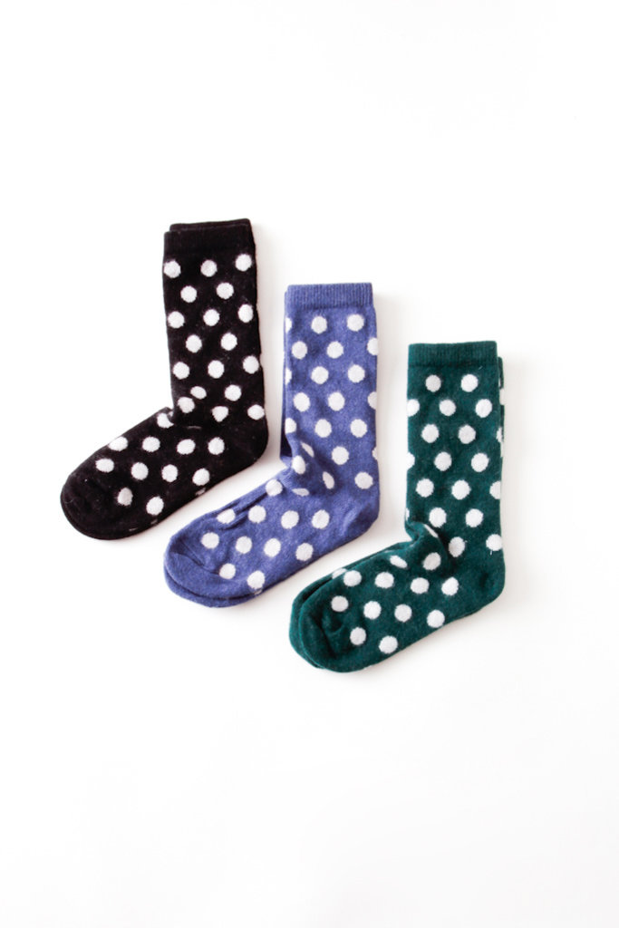Wool Cashmere Classic Dot - Multiple Colors